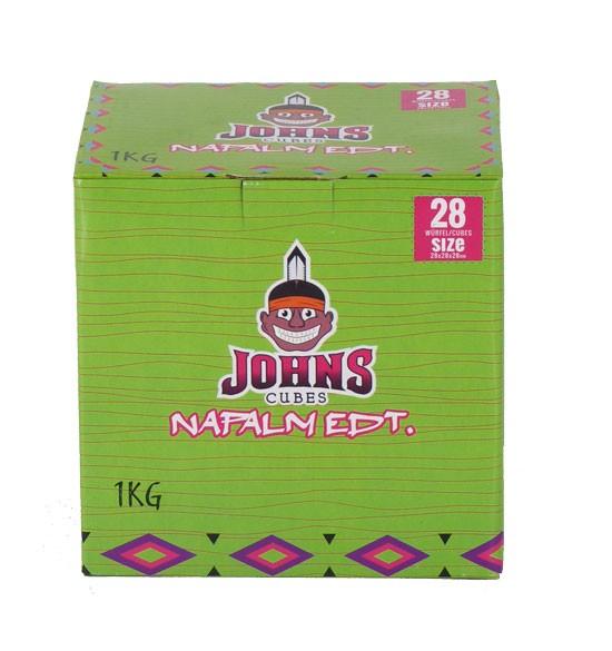 Johns Cubes Napalm Edt. 28 Shisha Kohle - 1kg