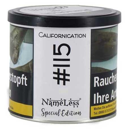 NameLess Tobacco 200g - #115 Californiacation