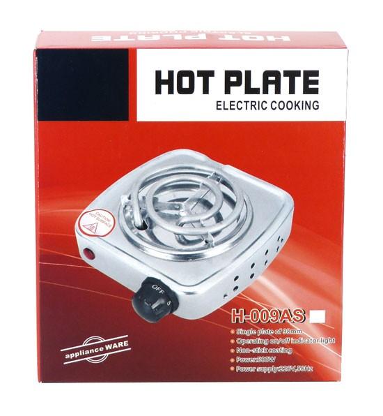 Hot Plate 500 watt weiß